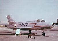 187 @ ETAR - French Dassault MD.454 Mystère IV at Ramstein AFB @ 1961