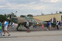 C-FDNL @ YIP - Hawker Hurricane