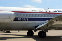N205US @ GKY - USA Jet DC-9 at Arlington Municipal