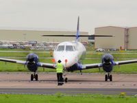 G-MAJV @ EGNR - Eastern Airways - by chris hall