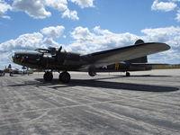 N3703G @ KYIP - Boeing B-17G - by Mark Pasqualino