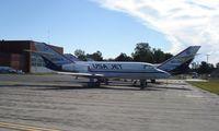 N826AA @ KYIP - Falcon 20