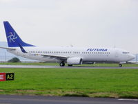 EC-KKU @ EGGP - Boeing 737-86N, Futura International Airways - by chris hall