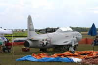 58-0492 @ YIP - T-33A being restored by Yankee Air Museum