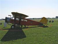 N4942V @ OSH - 1929 Curtiss-Wright TRAVEL AIR A-6000-A, P&W R-985 450 Hp - by Doug Robertson
