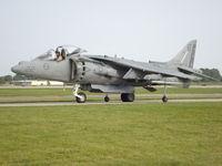 164153 @ KOSH - AV-8B Harrier II - by Mark Pasqualino