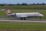 OE-LCR @ VIE - Bombardier Inc. Canadair CL 600-2B19