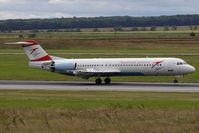 OE-LVN @ VIE - Fokker 100