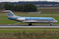 PH-WXA @ VIE - Fokker 70