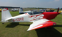 G-CDYZ @ EGSX - Participant in the 2008 RV Fly-in at North Weald Uk