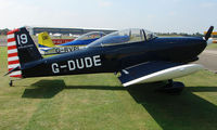 G-DUDE @ EGSX - Participant in the 2008 RV Fly-in at North Weald Uk