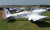 G-CCTG @ EGSX - RV-3B - Participant in the 2008 RV Fly-in at North Weald Uk