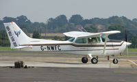G-NWFC @ EGSX - Cessna 172 of North Weald Flying Club