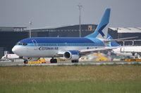 ES-ABJ @ LOWW - Boeing 737 takeoff RWY16
