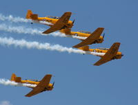 C-FRZW @ YIP - Formation of Canadian Harvards