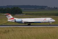 OE-LVB @ VIE - Fokker 100