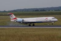 OE-LVM @ VIE - Fokker 100