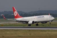 TC-JGP @ VIE - Boeing 737-8F2