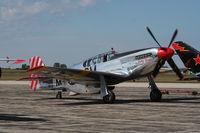 N251MX @ YIP - P-51C Betty Jane