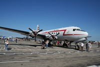 N500EJ @ YIP - C-54 Berlin Airlift Heritage plane - follows me to every airshow