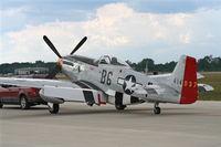 N551J @ YIP - Jack Roush's P-51D Gentleman Jim