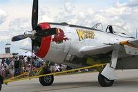 N647D @ YIP - P-47D Wicked Wabbit