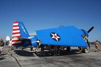 N683G @ YIP - Grumman TBM-3E Avenger