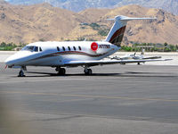N777MX @ PSP - Parked at Palm Springs International - by Jeff Sexton