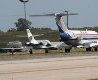 N877JG @ YIP - USA Jet Falcon 20