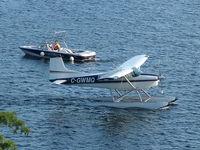 C-GWMQ @ CYQA - Windermere Resort waterfront, Muskoka, 29 July 2008 - by Barry