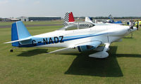 G-NADZ @ EGSX - Participant in the 2008 RV Fly-in at North Weald Uk