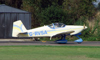 G-RVSA @ EGSX - Participant in the 2008 RV Fly-in at North Weald Uk