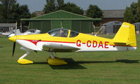G-CDAE @ EGSX - Participant in the 2008 RV Fly-in at North Weald Uk