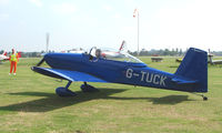 G-TUCK @ EGSX - Participant in the 2008 RV Fly-in at North Weald Uk