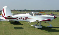 G-RVJP @ EGSX - Participant in the 2008 RV Fly-in at North Weald Uk