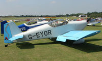 G-EYOR @ EGSX - Participant in the 2008 RV Fly-in at North Weald Uk