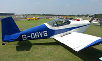 G-ORVG @ EGSX - Participant in the 2008 RV Fly-in at North Weald Uk