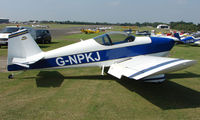 G-NPKJ @ EGSX - Participant in the 2008 RV Fly-in at North Weald Uk