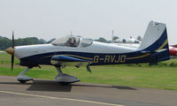 G-RVJO @ EGSX - Participant in the 2008 RV Fly-in at North Weald Uk