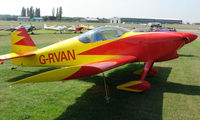 G-RVAN @ EGSX - Participant in the 2008 RV Fly-in at North Weald Uk