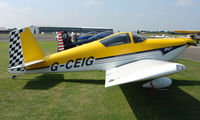 G-CEIG @ EGSX - Participant in the 2008 RV Fly-in at North Weald Uk