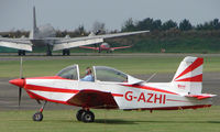 G-AZHI @ EGSX - Glos-Airtourer Super 150 at North Weald