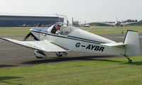 G-AYBR @ EGSX - Jodel D112 at North Weald