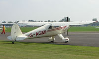 G-AGMI @ EGSX - 1941 Luscombe 8E at North Weald