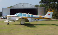 D-EKDN @ EGSX - Beech A36 Bonanza at North Weald
