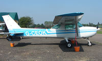G-CEOK @ EGSX - Cessna 150 at North Weald