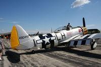 N1345B @ YIP - P-47D Jacky's Revenge