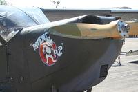 N2745C @ YIP - Stinson L-5E Patton's Pup