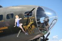 N3703G @ YIP - B-17 Memphis Belle
