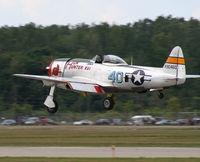 N9246B @ YIP - P-47D Hun Hunter